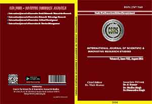 International Journal of Innovative Scientific and Innovative Research Studies