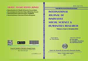 International Journal of Innovative Social Science & Humanities Research